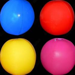 Kule, piłki, balony LED